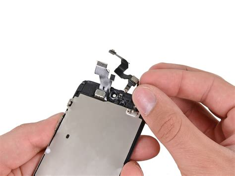 Kamera Depan Small Front 4s Original 1 iphone 5 front facing and sensor cable replacement