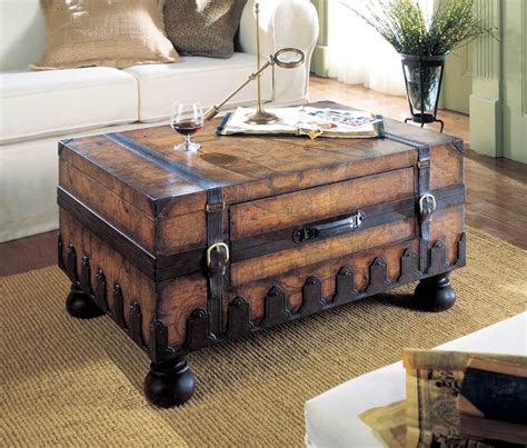 Steamer Trunk Coffee Table Roselawnlutheran Coffee Tables Trunks