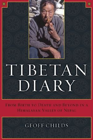 Tibetan Diary By Geoff Childs Paperback University Of