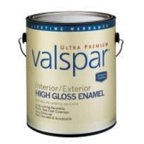 High Gloss Interior Paint by Valspar Interior Exterior High Gloss Paint Reviews