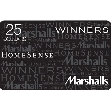Homesense Gift Card Check Balance - winners homesense marshalls gift card balance infocard co
