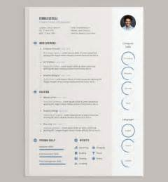 Free Template Ai by Cv Templates Adobe Illustrator Free Resume Exles Cv