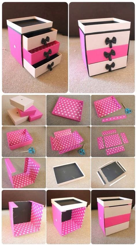 diy crafts storage box craft diy storage