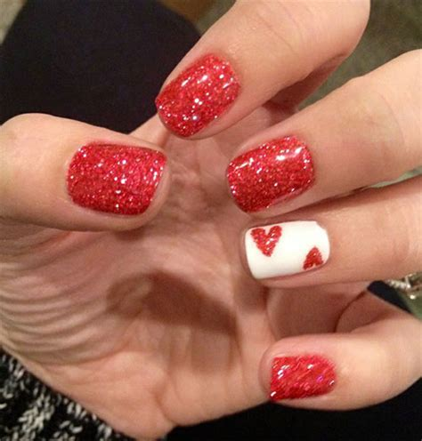 valentines day nail 15 easy s day nail designs ideas