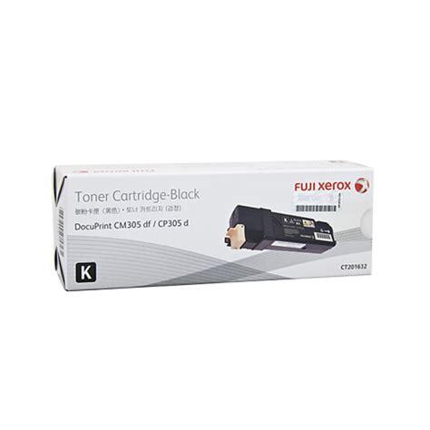 Toner Xerox Cp305d fuji xerox ct201632 black toner cartridge yield 3k pages