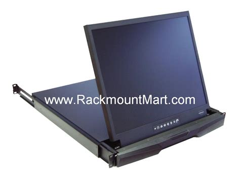 Server Rack Monitor by 1u Rack Mount Lcd Monitor Drawer Taa Compliant Lcd1u19 012