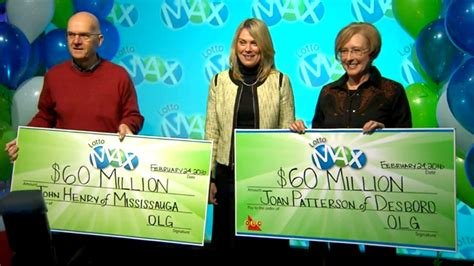 Winner T Max 2 winners each take home 60m lotto max jackpots ctv news