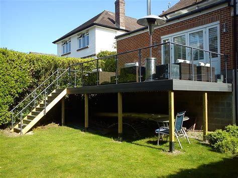 Balcony Patio decking railing at dorset athena fabrication amp welding