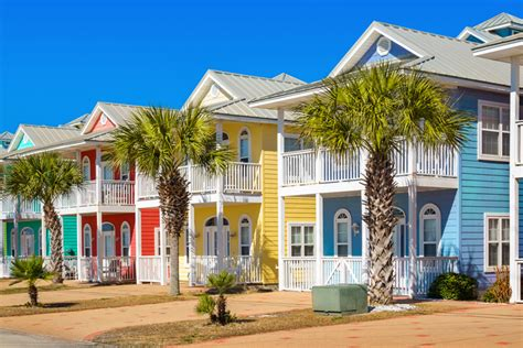 colorful beach houses florida retirement community rentals florida for boomers
