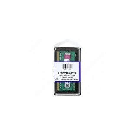 banco di ram modulo banco memoria ram 2gb kingston so dimm ddr3 1333