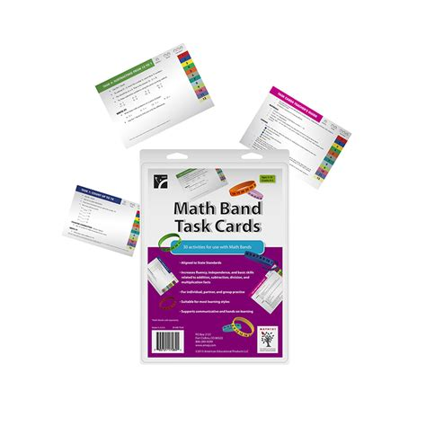 Math Task Card Templates by Math Bands Task Cards