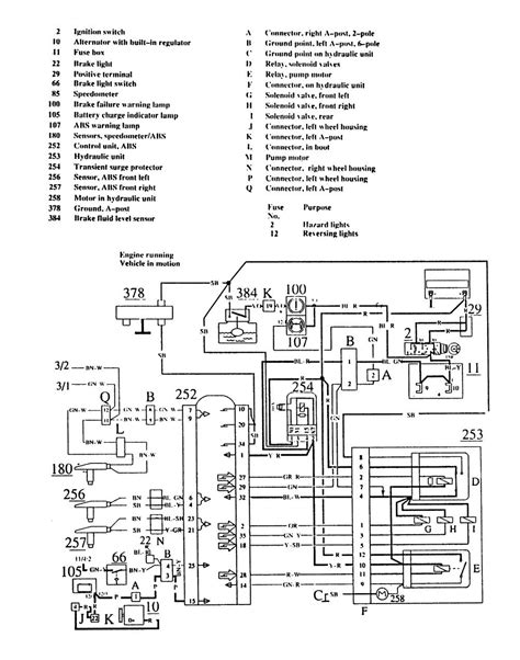 volvo 740 gl wiring diagram wiring diagram with description
