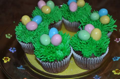easter on easter baskets easter cupcakes and