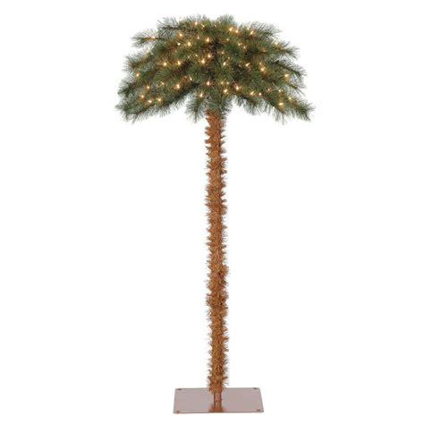 7ftlite palm tree at lowes island 5 pre lit artificial tropical palm tree w white lights ebay