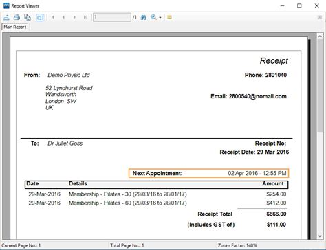 Doc.#707427: Sales Receipt Template Word Invoice Template