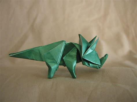 How To Make Origami Triceratops - origami triceratops draft by donyaquick on deviantart