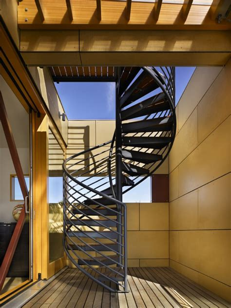Winding Staircase Design Modern Spiral Staircase Design Easy Home Decorating Ideas