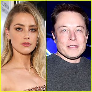 rumors amber heard going for big fish elon musk after amber heard elon musk release joint statement on their