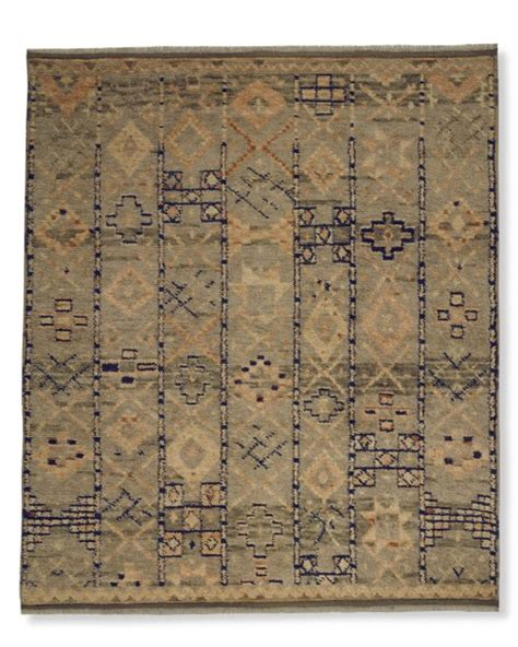 souk rug knotted souk moroccan rug williams sonoma