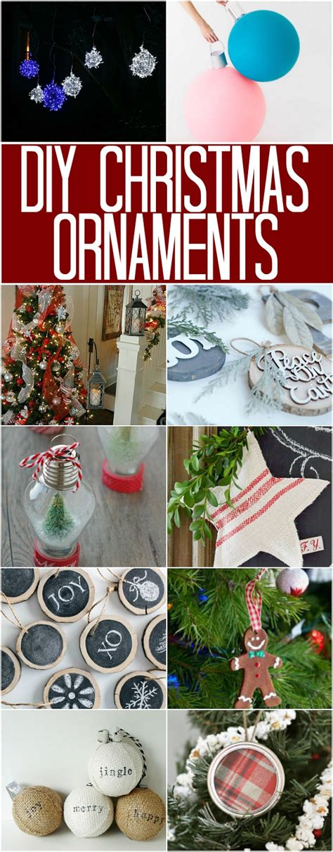 christmas decoration inspiration diy xmas gift ideas shopping cool presents tree winter holiday diy christmas ornaments 100 days of homemade holiday