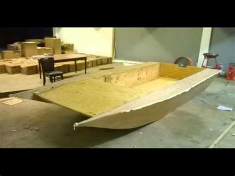 total boat skiff build miami boat build youtube