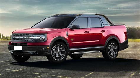 ford bronco sport pickup truck rendering   happen