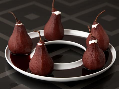 new year baking recipe newyears2007 redwinepoachedpears jpg