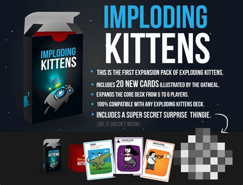 Imploding Kittens look imploding kittens the new expansion for