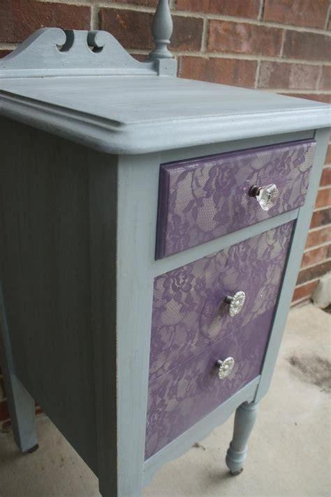 pintar muebles como pintar muebles efecto encaje