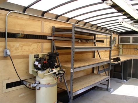 custom enclosed trailer kudas industries