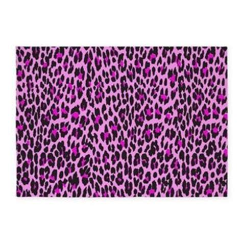 pink leopard rug pink leopard 5 x7 area rug gt animal print from cafepress home
