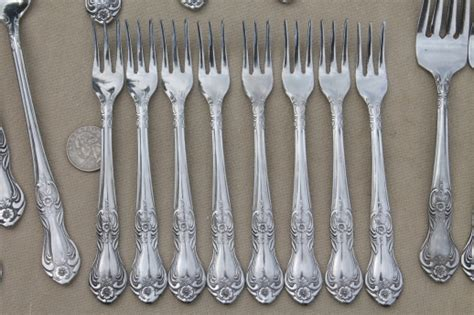 Modern Flatware by Vintage Wallace Silver Portsmouth Pattern Stainless