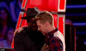 so there was this blind right will i am and fellow judges reduced to tears on the voice