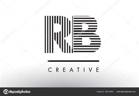 download pattern create rb rb r b black and white lines letter logo design stock