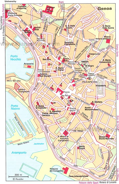 italy map genoa genoa map tourist attractions also map of genoa http