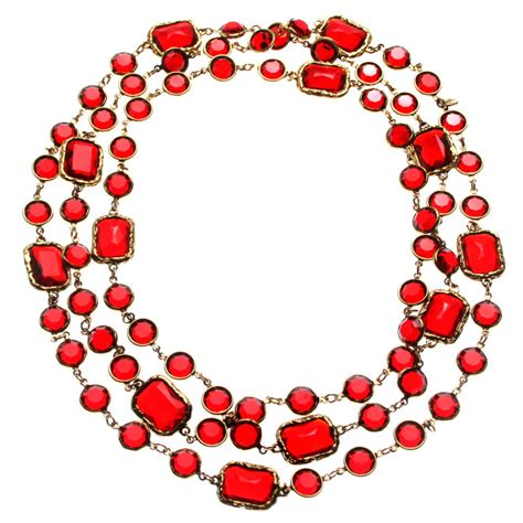 vintage glass necklaces costume jewelry part i