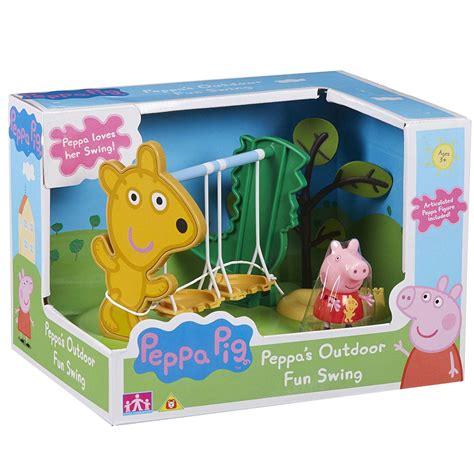peppa pig swing new peppa pig outdoor swing playset figure official
