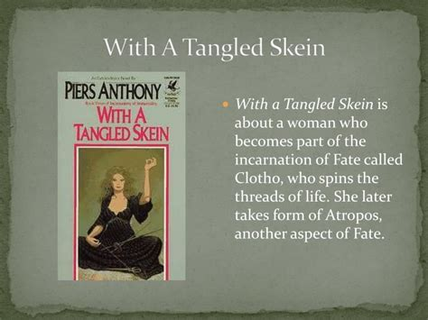 With A Tangled Skein ppt the fates modern day allusions powerpoint presentation id 1099239