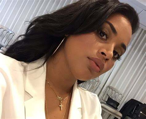 photis of lauren london on the game with blonde hair lauren london explains why she avoids posting photos of