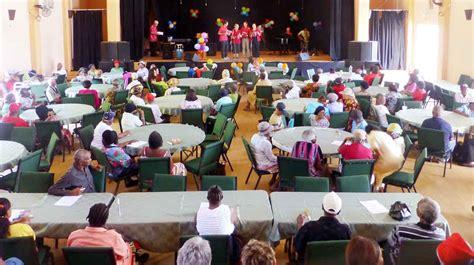 christmas parties for seniors citizens senior citizens association the montserrat reporter