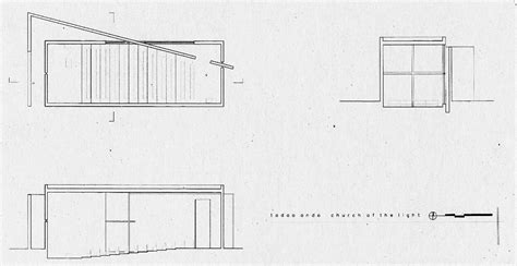 church of light floor plan church of the light tadao ando architect associates
