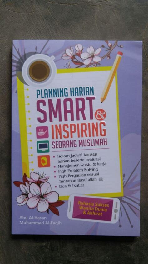 buku planning harian smart inspiring seorang muslimah toko muslim title