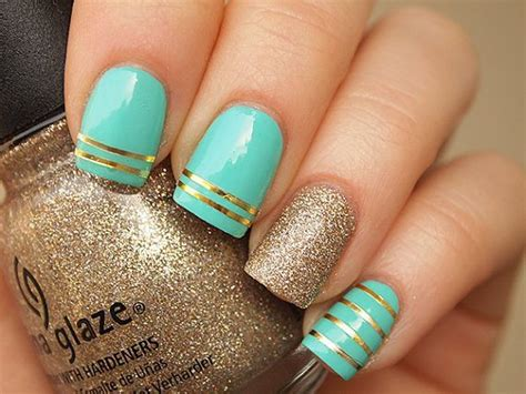imagenes de uñas acrilicas verde menta 17 mejores ideas sobre u 241 as acr 237 licas de colores en