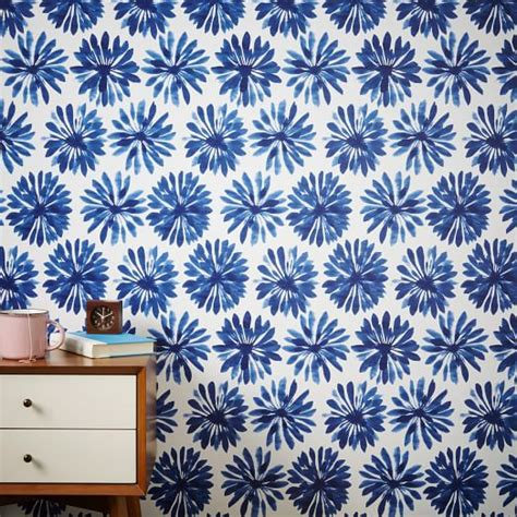 chasing paper removable wallpaper chasing paper removable wallpaper daisy ink west elm