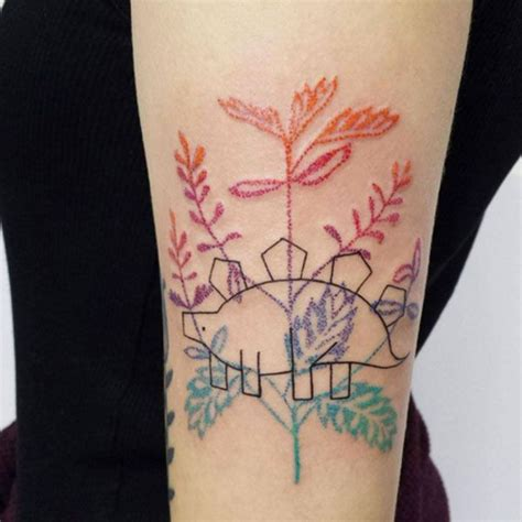 watercolor tattoo leaves these watercolor tattoos are the prettiest things you ll