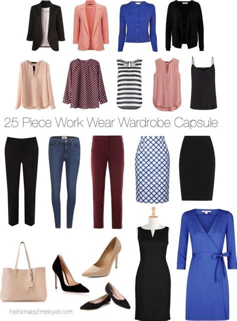 Professional Wardrobe Stylist by 25 Work Wear Wardrobe Capsule Professional