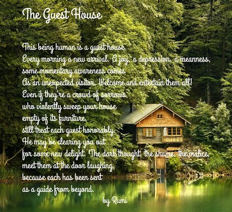 guest in the house a poem by rumi the guest house waldorf inspired learning