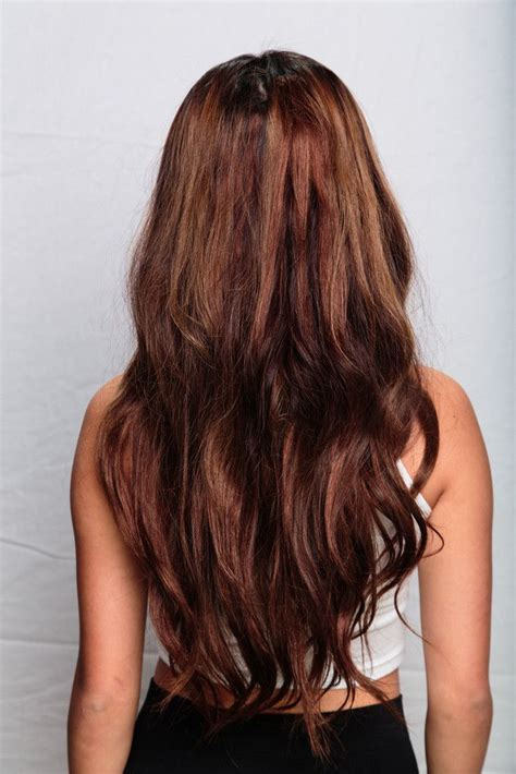 bellami hair lengths bellissima 220g 22 chocolate brown 4 i want brown
