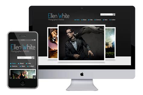free responsive website templates 2014 zphotographer free responsive html5 theme zerotheme