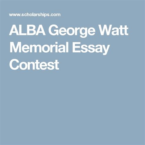 Geoffrey Memorial Essay Competition by 25 Best Essay Contests Trending Ideas On Teach Scholarship Essay And Essay